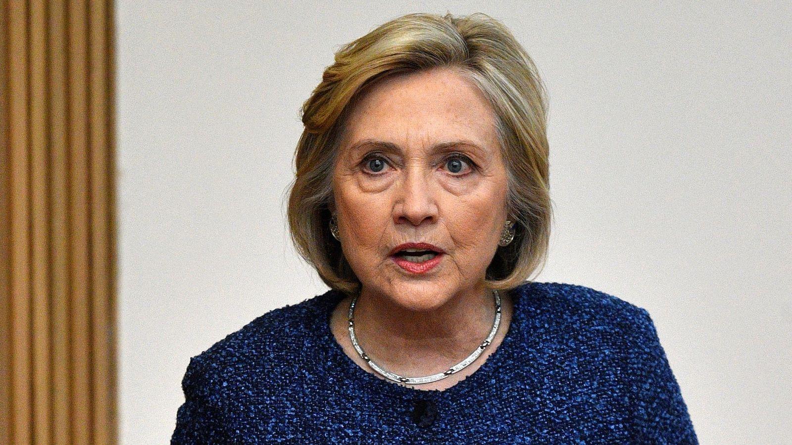 Foto: Hillary Clinton, en una imagen de archivo. (EFE)