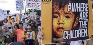 Post de Trump anuncia una norma para retener a los menores migrantes de forma indefinida