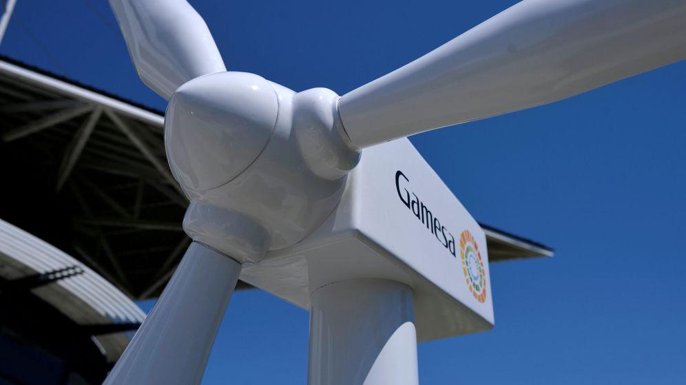 Foto: foto de un aerogenerador de Gamesa. (Reuters)
