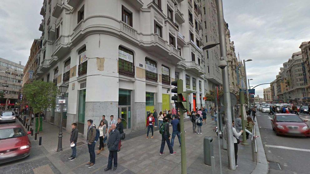 Bankia recibe ofertas de hasta 20 millones por una oficina en Gran Vía 44