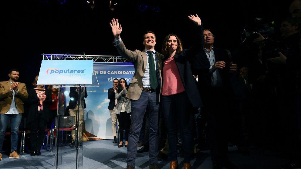 'Qué hay de lo mío': disputa en el PP para ir entre los 30 primeros en la lista de Ayuso