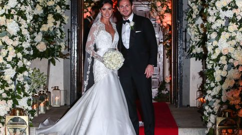 El futbolista Frank Lampard se casa por todo lo alto con Christine Bleakley