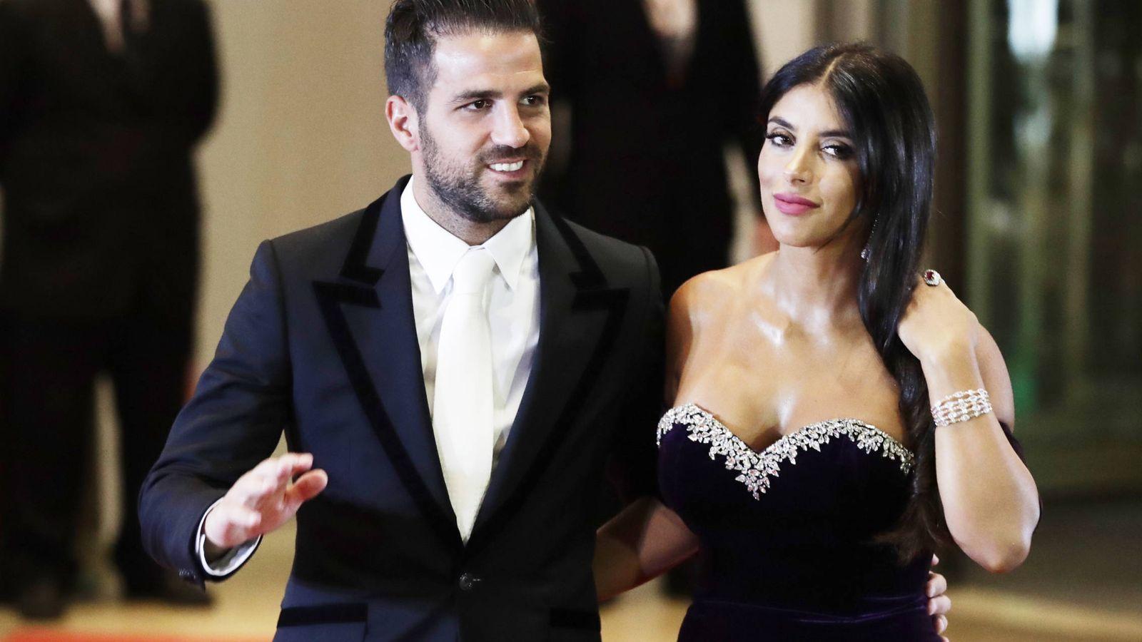 Foto: Cesc Fábregas y Daniella Semaan en una imagen de archivo. (Gtres)