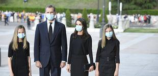 Post de Álbum: los Reyes, Leonor y Sofía presiden el funeral por las víctimas del covid-19