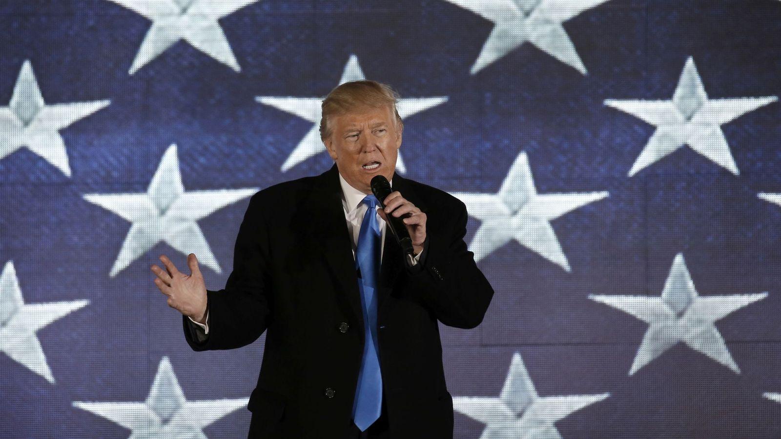 Foto: Silbatos, tambores o perros: lo que no se puede llevar a la investidura de Trump