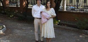 Post de El precio y la marca (low cost) del look con el que Sofía Palazuelo presentó a su hija Rosario