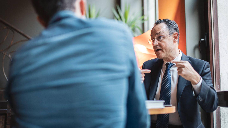 Pedro Baños: 'algún día publicaré un libro contando todo. Será un bombazo y causará trastornos diplomáticos'. (J. Álvaro Manzano)