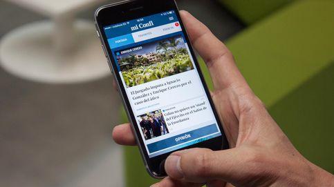 El Confidencial lanza la 'app' MiConfi: actualidad personalizada en tu bolsillo