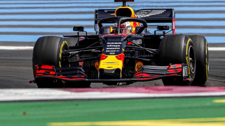 Verstappen durante el Gran Premio de Francia. (EFE)