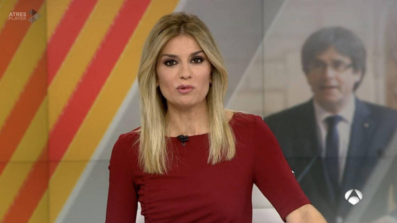 Sandra Golpe, presentadora de 'A3N 1'.