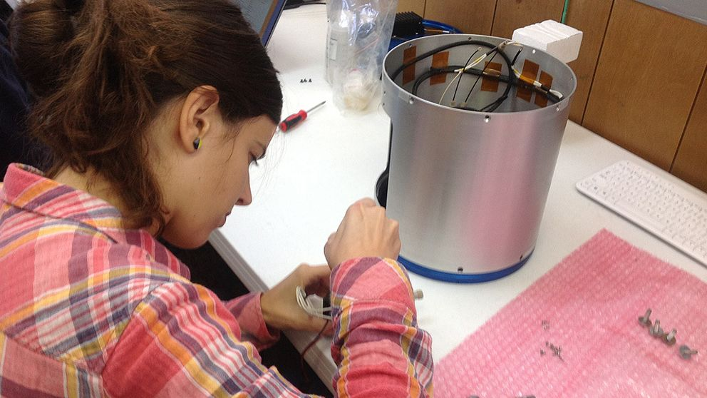 La estudiante catalana que envía sus experimentos al espacio