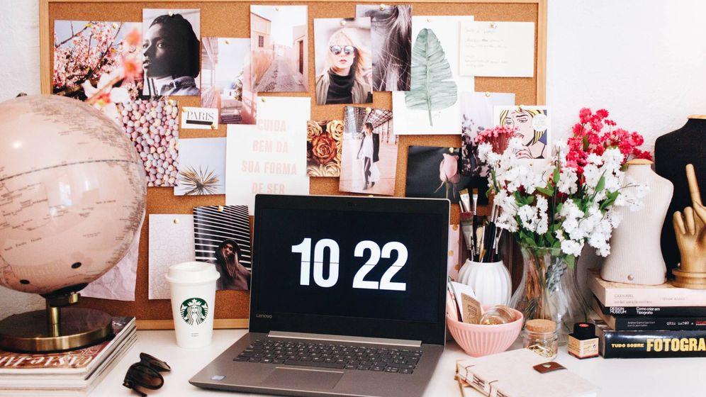 Foto: La rutina beauty también en la ofi. (Unsplash)