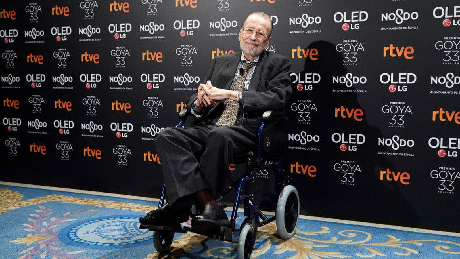 Foto: Chicho Ibáñez Serrador, premio Goya de Honor 2019. (Getty)