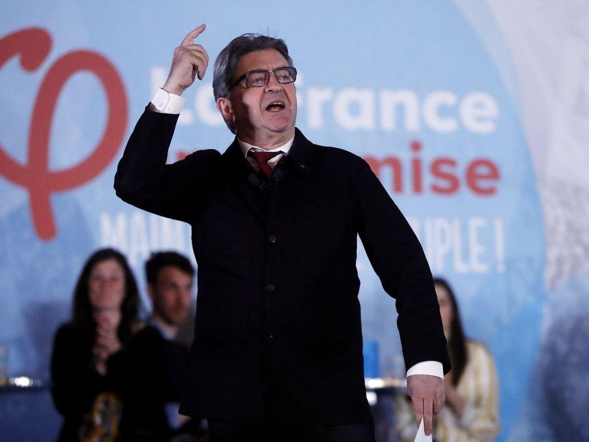 Foto: Jean Luc Mélenchon, en una imagen de archivo de 2018. (EFE)