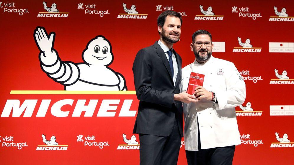 Foto: El chef Dani García recibe la tercera estrella Michelin para su restaurante marbellí. (EFE)