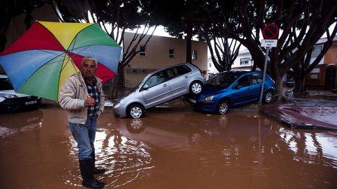 El temporal desafía a los Goya: Málaga en alerta por desbordamientos