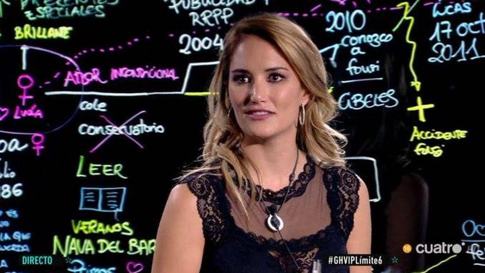 Foto: Alba Carrillo, en 'GH VIP 7'. (Cuatro)