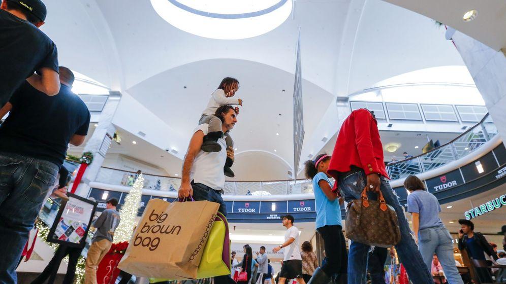 Foto: Centro comercial en Atlanta (EEUU). (EFE)