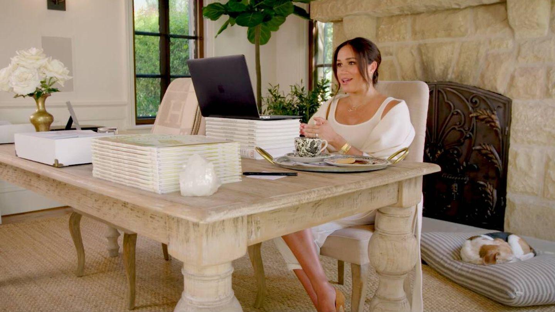 Meghan Markle, en su mansión de Santa Barbara. (Archewell)