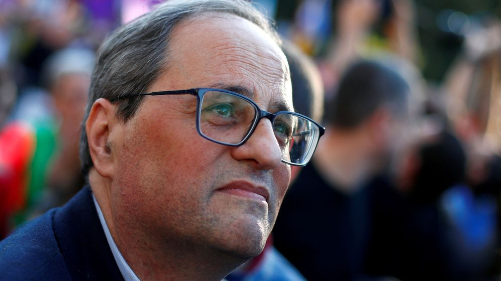 Foto: File photo: catalan regional president quim torra is seen ahead of a rally of catalan separatist organisations, in madrid