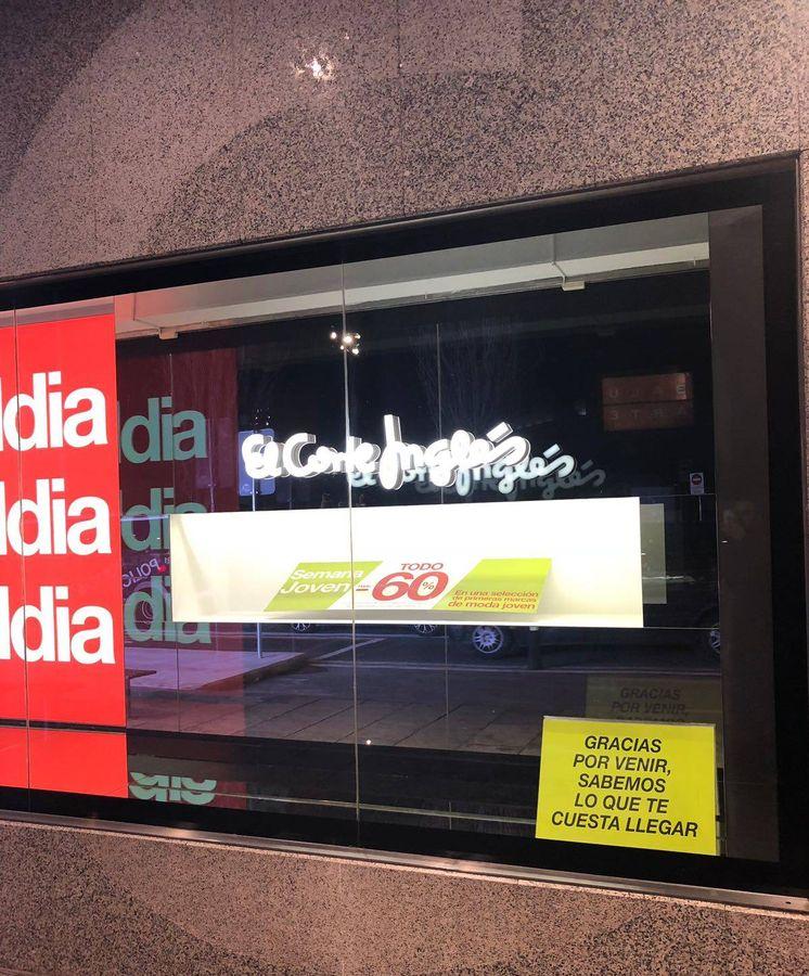 Foto: El Corte Inglés, Purificación García, Bimba y Lola o Calzedonia son algunas de las tiendas que se han sumado a la campaña.