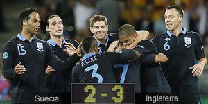 Walcott revoluciona el partido, da la victoria a Inglaterra y elimina a la Suecia de Ibrahimovic