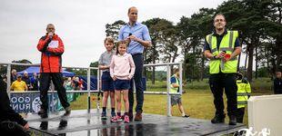 Post de El príncipe Guillermo celebra el Día del Padre llevándose a George y Charlotte a una carrera