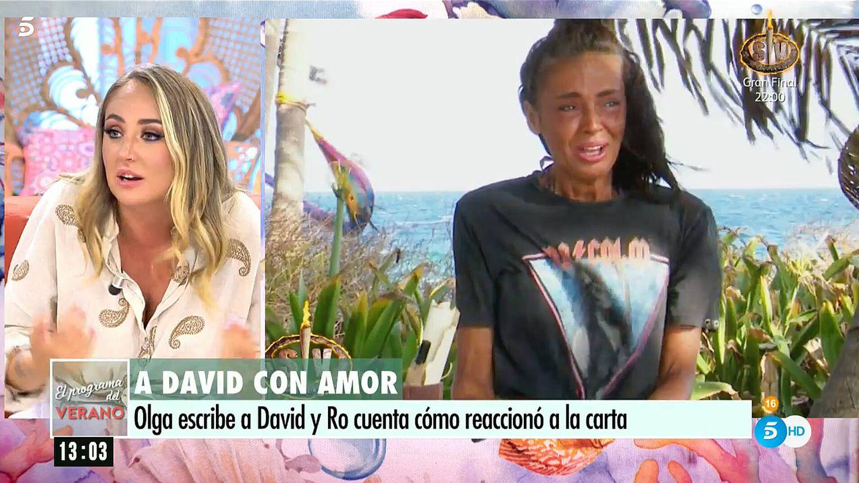 Rocío Flores, en 'El programa de AR'. (Telecinco)