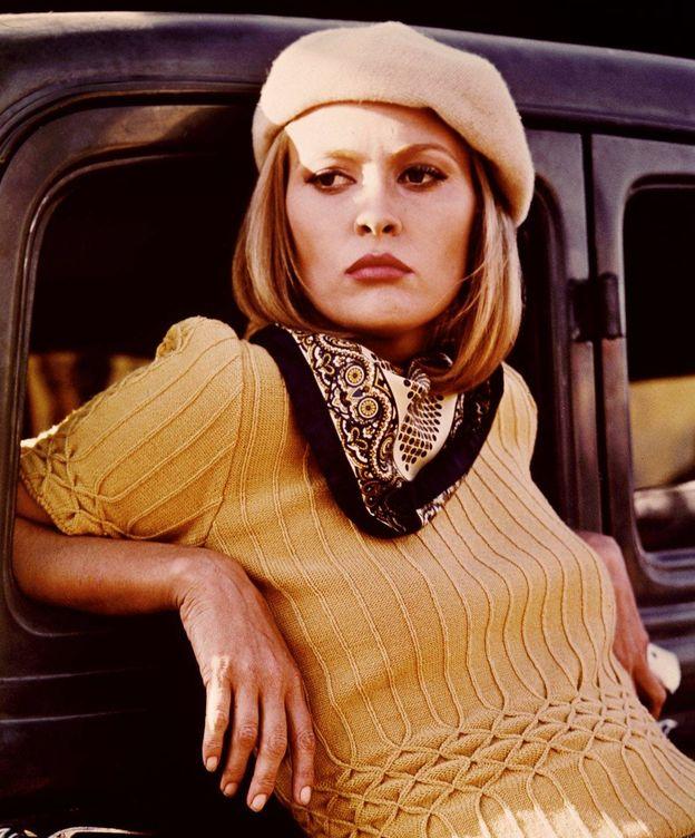 Foto: Faye Dunaway, en 'Bonnie y Clyde'.