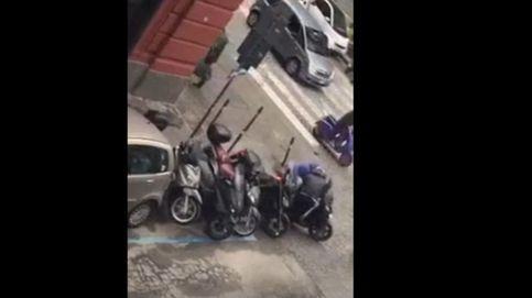 Así se roba una moto Scooter en 40 segundos en Nápoles