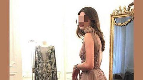 Amina Martínez de Irujo se prueba vestidos de 15.000 € para su puesta