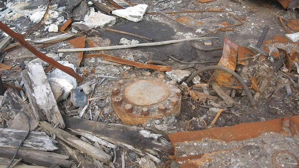 Foto: La tapa que, a día de hoy, sella la entrada al agujero más profundo del mundo. (CC/Wikimedia Commons)