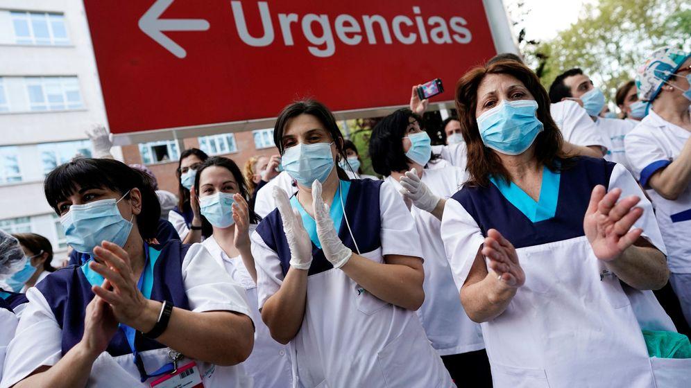 Foto: Sanitarios de la Fundación Jiménez Díaz (Reuters)