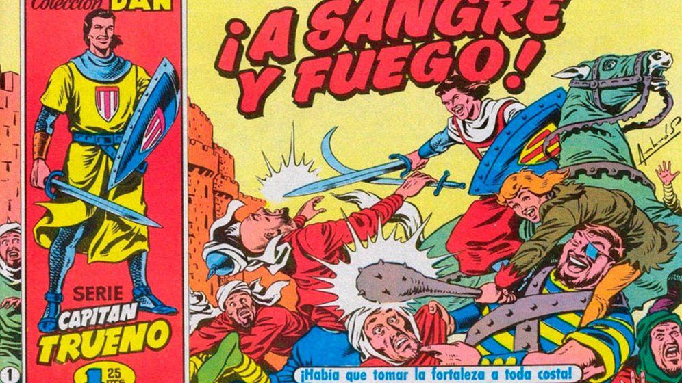 Foto: Aquella infancia de 'El Capitán Trueno', 'La familia trapisonda' y 'Mortadelo y Filemón'