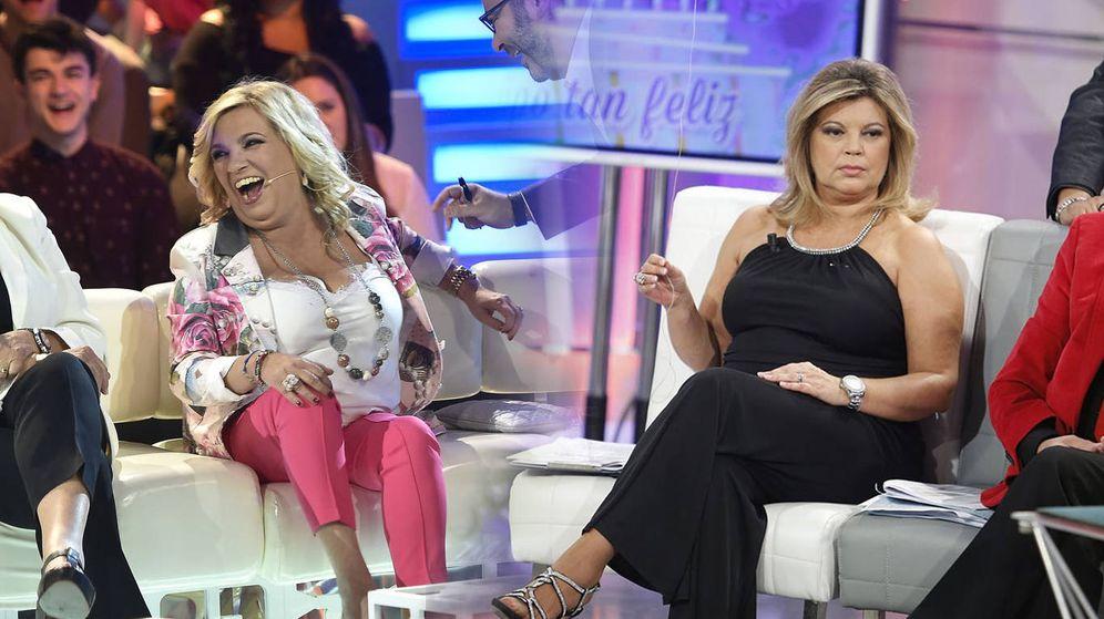 Foto: Carmen Borrego opaca a Terelu Campos en televisión. (Mediaset España)