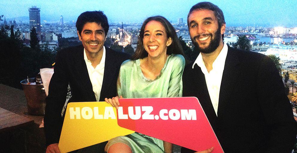 Foto: Los fundadores de Holaluz