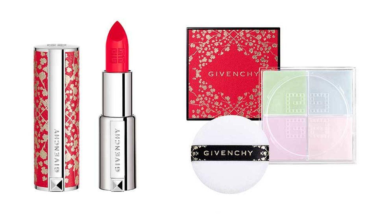 Le Rouge y Prisme Libre de Givenchy en edición limitada conmemorativa del Año Nuevo chino.