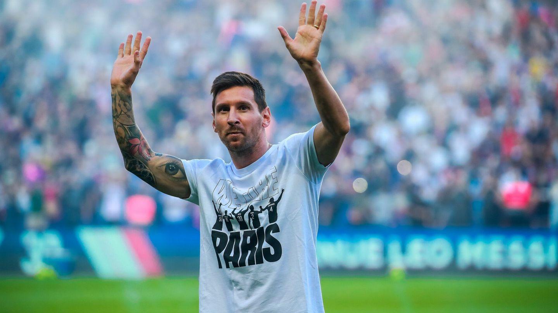 El PSG ya ha presentado al argentino. (EFE)