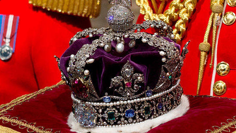 Corona Imperial con el diamante Cullinan II. (Getty)