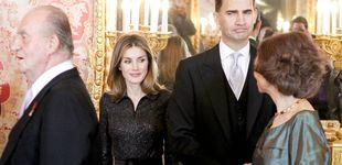 Post de Letizia recibe por primera vez a sus suegros en Nochebuena