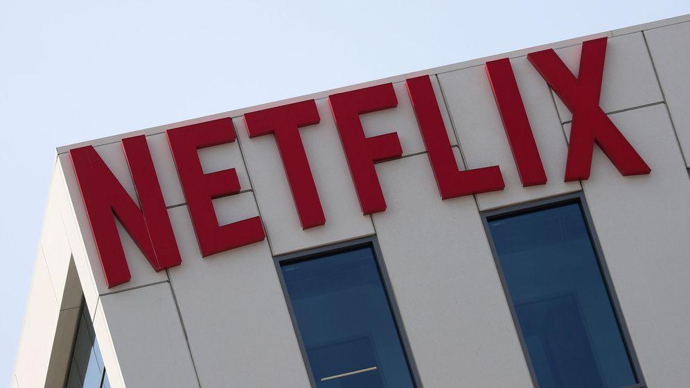 Foto: Foto del logo de Netflix en sus oficinas de Los Angeles. (EFE)