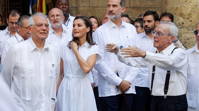 Los Reyes en La Habana. (EFE)
