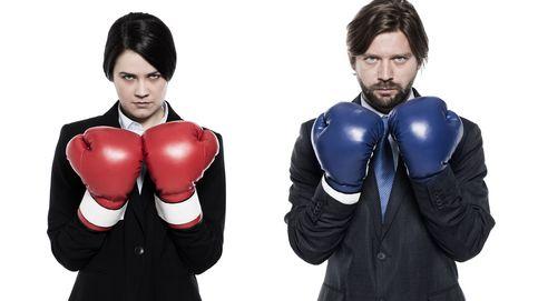 Guerra de sexos: cuál es el que acaba ganando (según el tipo de pelea)