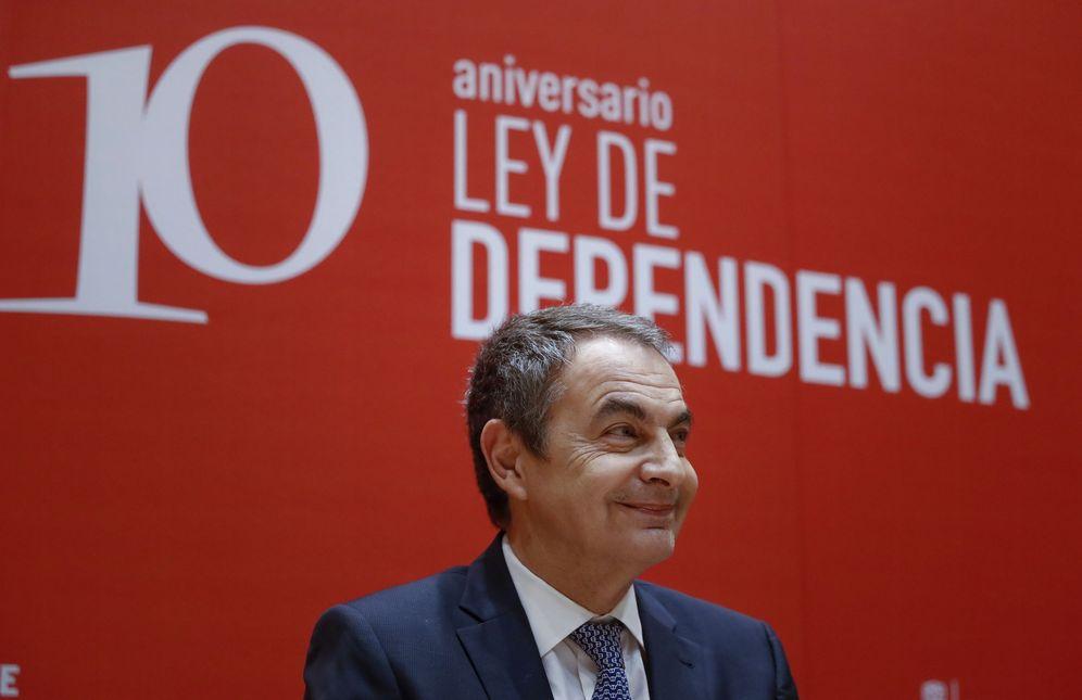 Foto: José Luis Rodríguez Zapatero, el pasado 19 de diciembre en el Congreso, en la conmemoración de los 10 años de la Ley de Dependencia. (EFE)