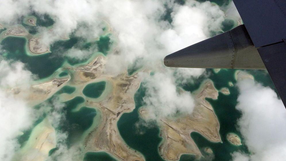 Foto: Archipiélago de Kiribati, en el Pacífico (Reuters)