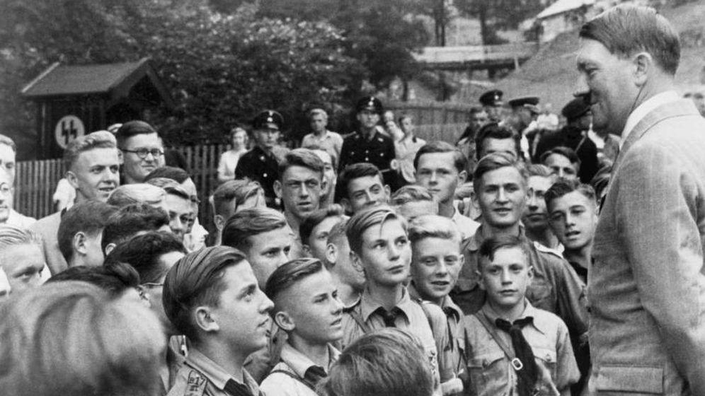 Foto: Las Juventudes Hitlerianas, en 1937. (Cordon Press)