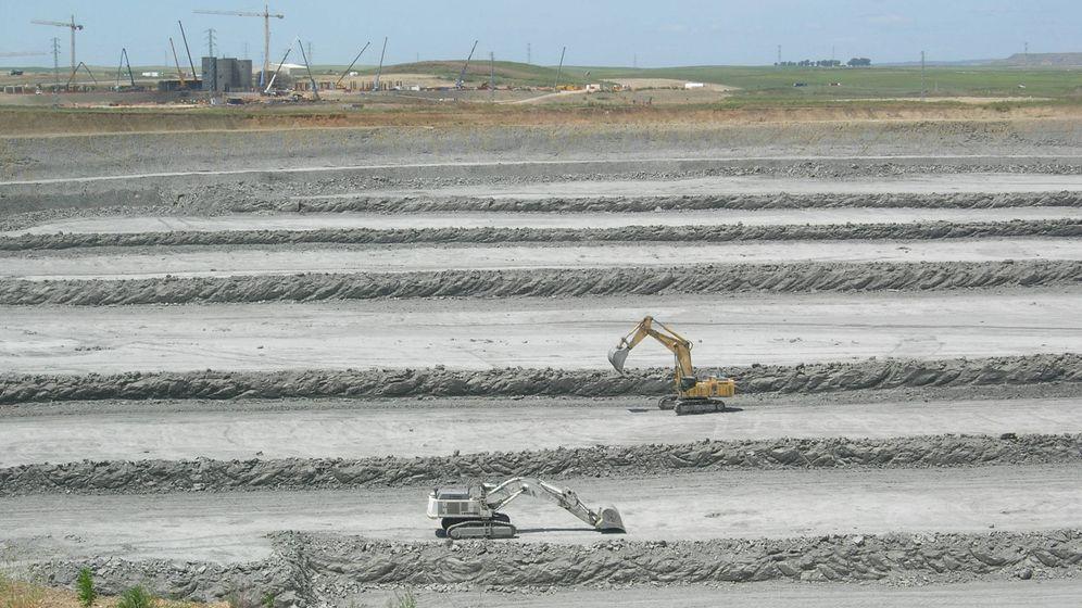 Foto: Excavación de la corta minera de Las Cruces. (CLC)