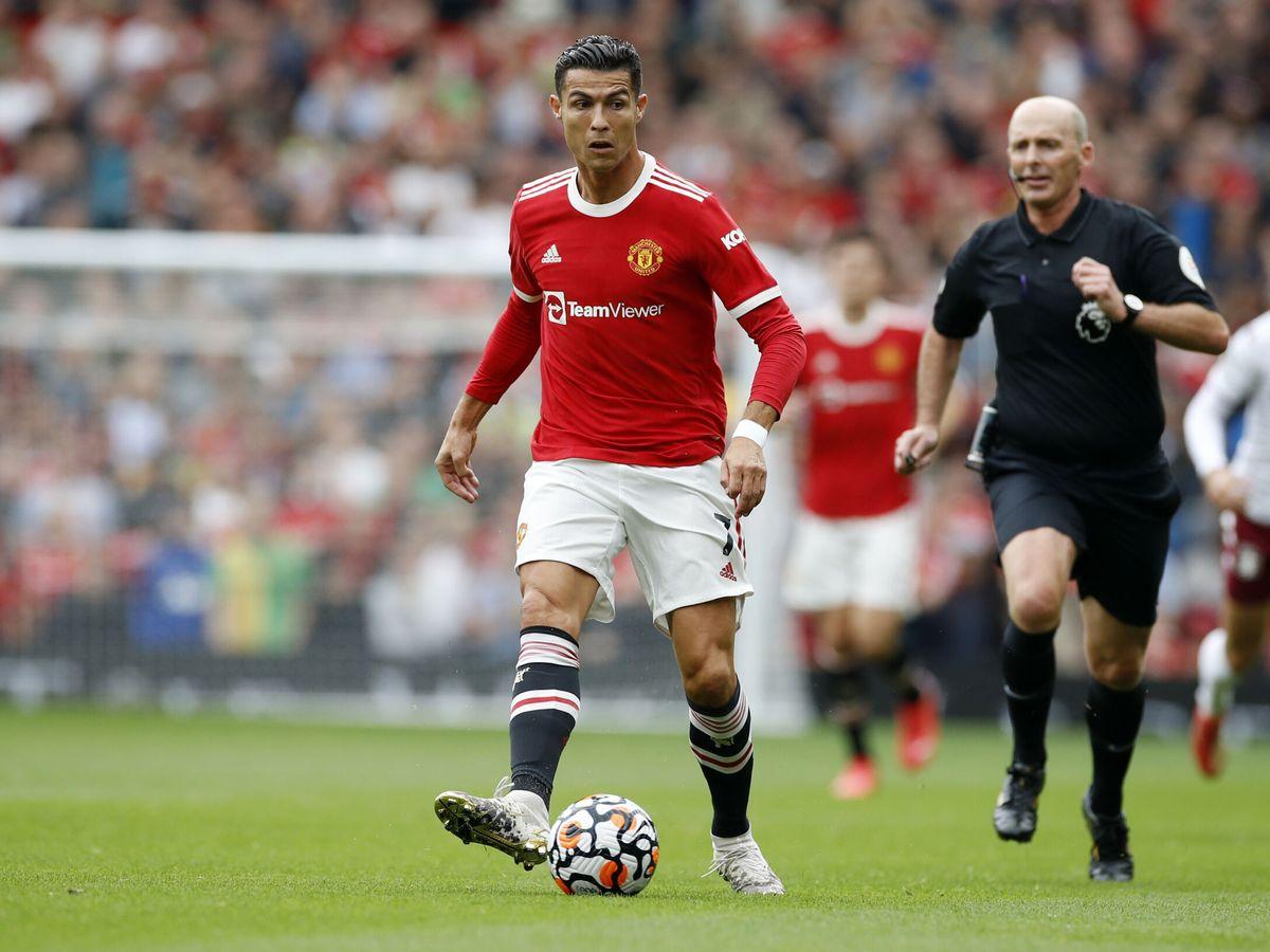 Foto: Cristiano Ronaldo, durante un partido de la Premier League. (Reuters)