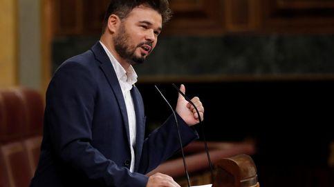 Gabriel Rufián carga contra PP, Ciudadanos y Vox con unas palabras atribuidas a Unamuno