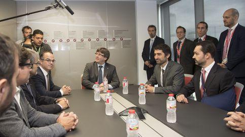 Los servicios españoles de información vigilaron todo el viaje del Govern a Israel